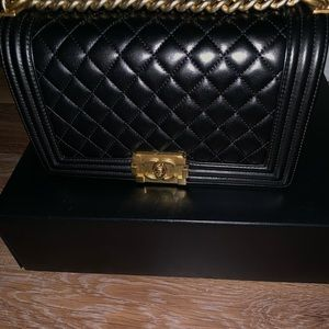 Old Medium Chanel Boy Bag